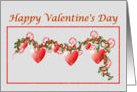Country Style Valentine card