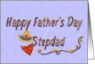 Happy Father's Day Stepdad, Western Style card