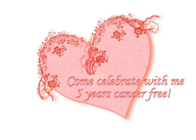 Buy free e greeting cards - Cancer Survivor Party 5 Years Cancer Free card