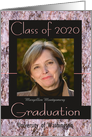 Graduation Announcement 2013 Pink Stone Photo Card