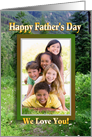 Father's Day Photo Card Mountain Meadow card
