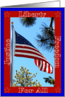 4th of July Celebration card