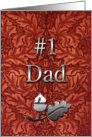Number One Dad From Son Happy Father's Day card