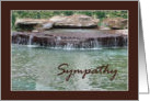 Sympathy, Water Fall card