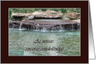 Portuguese Sympathy, Waterfall card