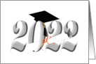 Class of 2017 - With Diploma and Graduation Cap (Blank Inside) card