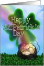 Happy St. Patricks Day card