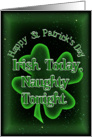 St Patrick's Day Party Invitation card