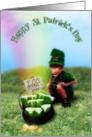 Lucky Little Leprechaun card