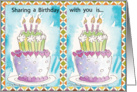 Sharing a Birthday with You card
