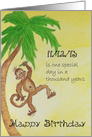 Swinging from the Trees - Happy Birthday - November 11, 2013 card