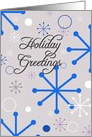 Holiday Greetings- Sparkles card