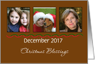 Christmas Blessings - Photo Card - Customizable card