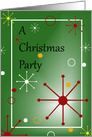 A Christmas Party - Invitation card