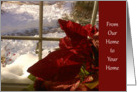 From Our Home to Your Home - Holiday Wishes card