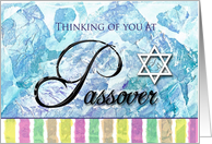 Thinking of You at Passover card
