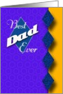 Best Dad Ever- Happy Father's Day card