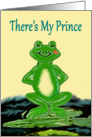 Happy Anniversary Frog Prince card