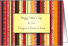 Father&rsquo;s Day for Daughter&rsquo;s Father In Law card