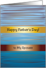 Father&rsquo;s Day for Sponsee, abstract design card