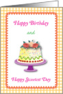 Happy Birthday on Sweetest Day card