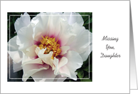 Missing You, to Estranged Daughter card