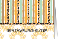Kwanzaa from all of us card