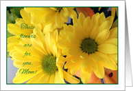 Happy Birthday to Estranged Mom, colorful flowers card