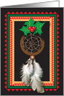 Christmas / Native American Dream Catcher card