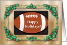 Christmas / Football Theme card