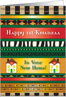 Kwanzaa / 1st Kwanzaa in New Home card