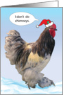 Christmas / Money Enclosed, Rooster card