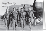 Verterans Day / To Grandmother/Grandma, WWII planes card