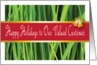 Business / Christmas, Lawn Care card