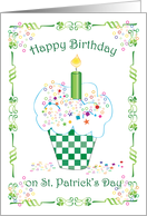 St. Patrick's Day / Birthday card