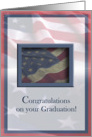 Graduation, Basic Training, Flag card