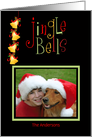 Christmas Jingle Bells, Photo Card