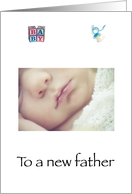 Congratulations New Father card