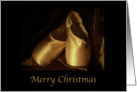 Ballet Merry Christmas card