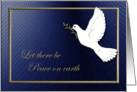Peace on Earth, Dove card