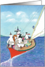 Birthday-Sailing Party card
