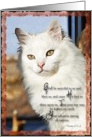White Angora Psalm 67:1-2 card
