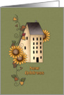 Sunflower Moving Announcement card