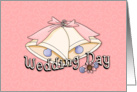 Wedding Invitation with Wedding Bells card