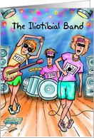 Iliotibial Band : Funny Runners Birthday card