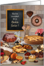 Bake Sale Kitchen Invitation card