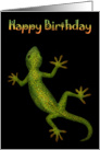Birthday Gecko card