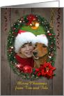 Customizable Christmas Photo Card