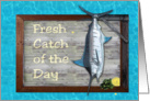Fresh Catch of the Day Dinner Invitation