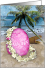 Happy Easter Hawaiian Style card